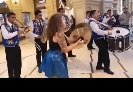 Agrupación peruana se despidió de Rusia con emotivo concierto