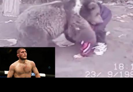 actual campeón ruso de la UFC entrenaba con osos cuando era niño