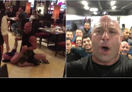 Borracho se puso a buscar pelea en restaurante y se 'estrelló' con excampeón de UFC