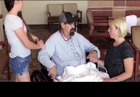Estados Unidos: espiga de 20 kilos atraviesa su cuerpo y médicos le salvan la vida