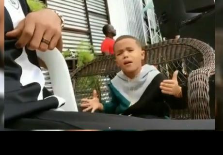 Niño que imita a Romeo Santos y Ozuna se vuelve viral