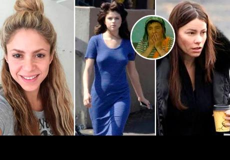Así lucen estas 8 famosas sin maquillaje. ¡Te sorprenderás!
