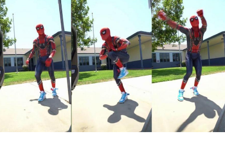 'Spider-Man' realizó el 'Kiki Challenge', pero a 'Thanos' no le gustó y lo 'borró'