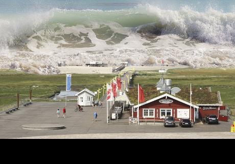 Cae un 'tsunami' de nubes en EE.UU.