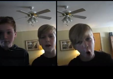 'Tiernos' niños hicieron una transmisión en vivo y sorprendieron a millones