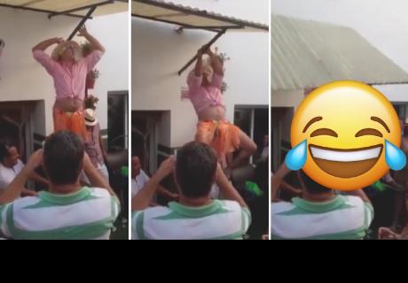 Imitaba a Shakira en una fiesta, pero todo terminó muy mal