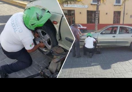 Pensó mal de un policía, pero su acción lo dejó muy sorprendido