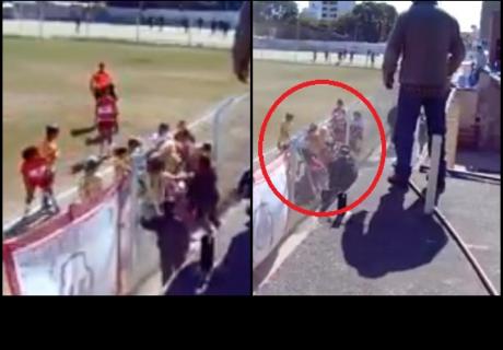 Partido de fútbol femenimo termina en brutal batalla campal