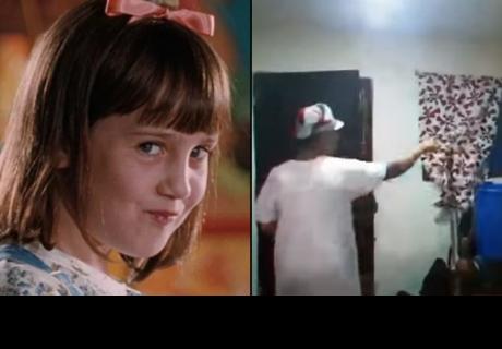 Matilda Challenge, el nuevo reto que se hizo viral en las redes sociales