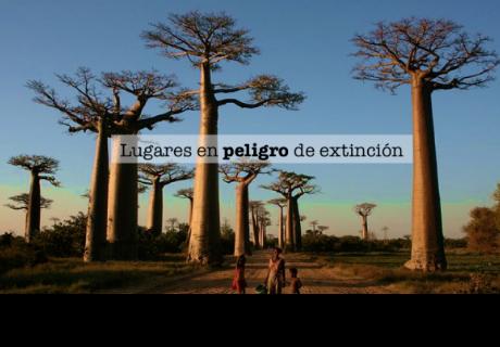 5 lugares que están en peligro de extinción