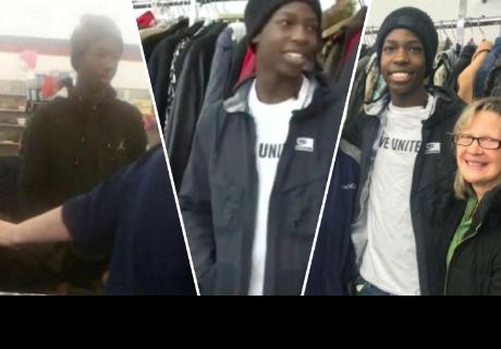Joven compra seis abrigos, le preguntan para quiénes son y la respuesta los dejó impactados