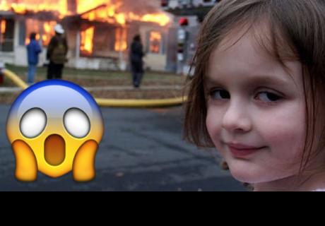 Facebook: la niña del meme de 'Disaster Girl' tiene 18 años y así luce ahora