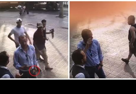 Turista sufrió rápido robo de su reloj en una calle de Barcelona