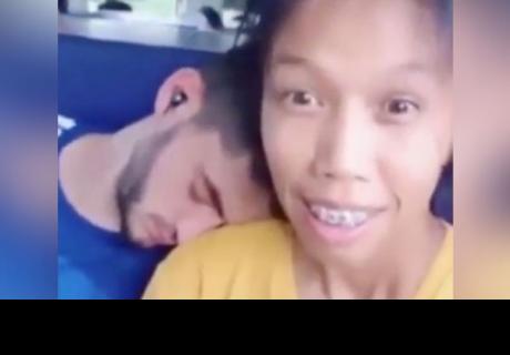 No te imaginas cómo luce el novio de esta joven vietnamita