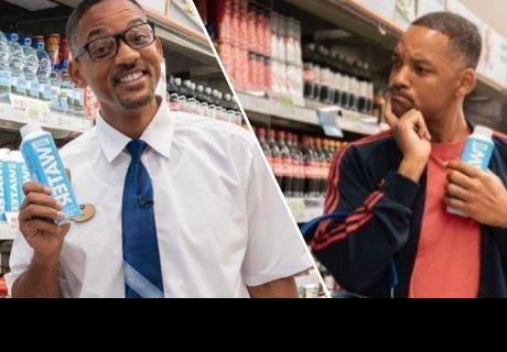 Will Smith asombró a clientes como promotor de un nuevo producto