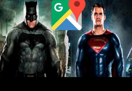 Google Maps: fans de Batman y Superman se asombran con este hallazgo
