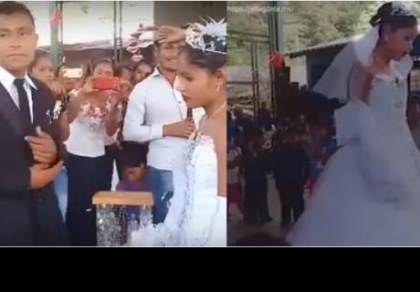 La auténtica historia de 'La boda más triste de México' que es tendencia en Facebook