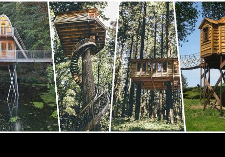 Casas de árbol fabulosas que te harán sentir ganas de tener una