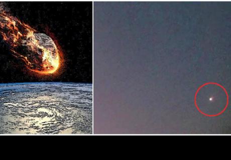 Captan una bola de fuego en el cielo que fue vista desde nueve estados de EE.UU.