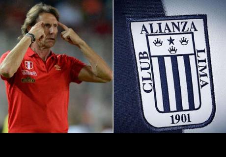 Ricardo Gareca: le dio con 'palo' al club peruano alianza lima