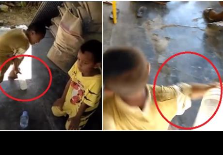 Niños jugaban reto de la botella, pero todo terminó con una cruel venganza