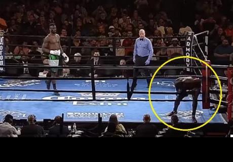Boxeador se negó a pelear y abandonó el cuadrilátero