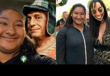 Se tomó selfies con famosos y ahora le hacen memes