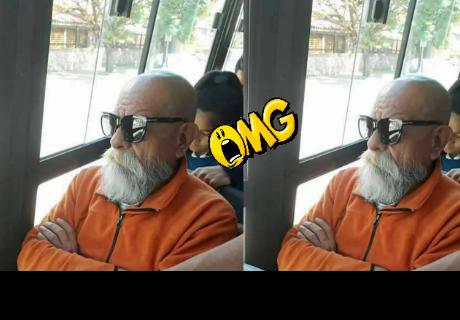 WhatsApp: le envía foto del 'Maestro Roshi' a su amigo y reacciona así