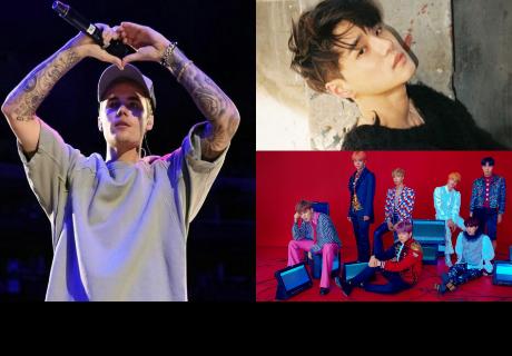 Justin Bieber se suma a la fiebre BTS