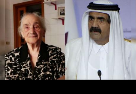 Anciana le prestó baño a millonario árabe y este la premió así