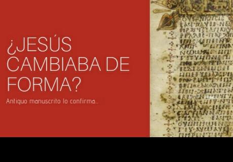 Jesús cambiaba de forma según texto egipcio de 1200 años