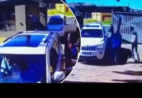 Abuelita evita que ladrones se lleven su vehículo y cibernautas quedan sorprendidos