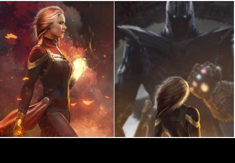 Capitana Marvel: 10 fotos filtradas de la nueva heroína que está causando furor en las redes