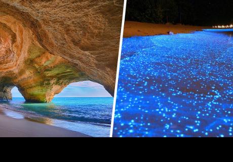 Estas son las 7 playas más extrañas y hermosas del mundo