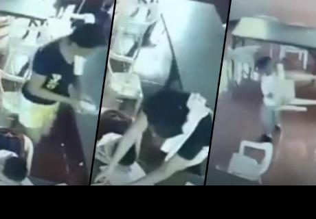 Niño se quedó dormido, lo despertaron e hizo algo que generó las carcajadas de los cibernautas