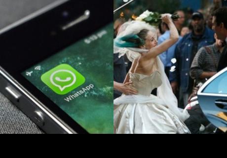Deja plantada a su novia el día de la boda porque 'pasaba demasiado tiempo en WhatsApp'