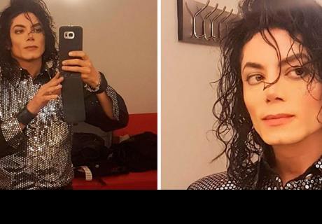 Michael Jackson parece haber reencarnado en este imitador  y  las redes enloquecen