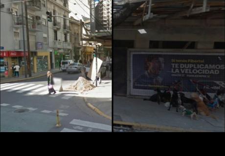 Buscaba calle en Argentina por Google Maps y cuando hizo zoom, se sorprendió