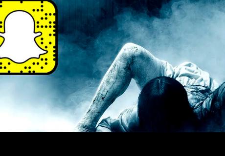 Tomó una foto con Snapchat y su filtro detecta algo aterrador que lo obliga a mudarse