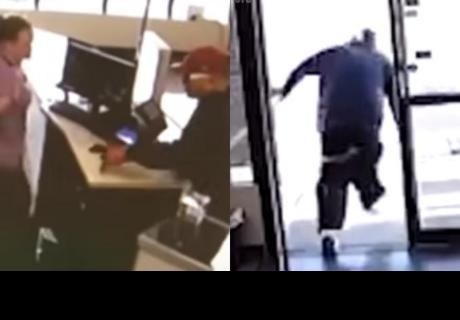 Ladrón pierde sus pantalones cuando intenta asaltar una tienda