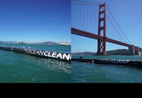 El proyecto más grande para limpiar el océano se inició el 8 de septiembre