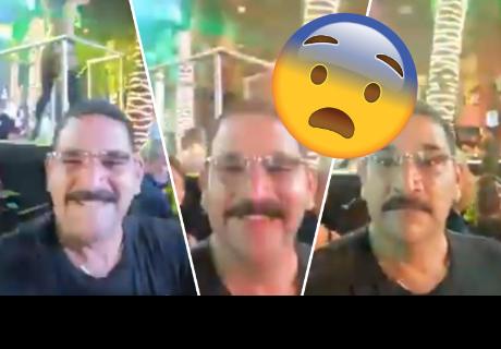 Hombre disfrutaba show en discoteca, pero su esposa le hizo 'aterrador' gesto