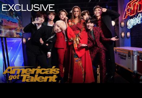 BTS sorprendió con un magnífico show en 'America's Got Talent 2018'