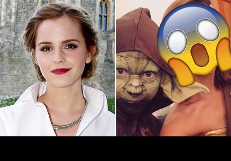 Emma Watson se disfrazó de 'Wonder Woman' y dejó encantados a sus seguidores