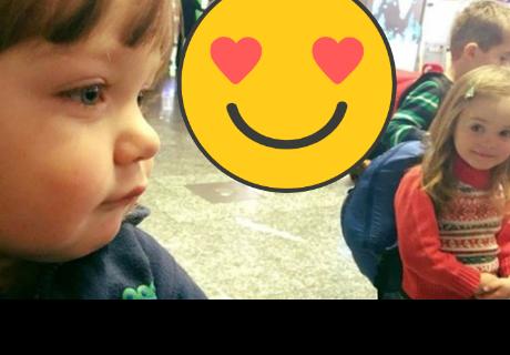 Facebook: Tierno niño es grabado declarando su amor a su amor platónico mediante una carta