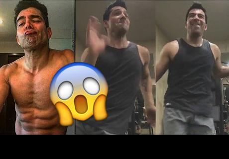 ¿Aparece fantasma en video de reconocido actor mexicano?