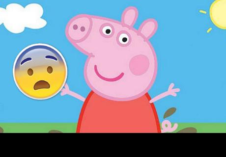 Aparece rostro nunca antes visto de Peppa Pig y causa pánico