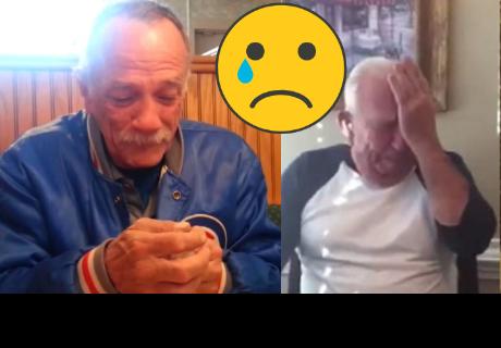 Mira las divertidas reacciones de estas personas al saber que serán abuelos, que ya es viral en Facebook