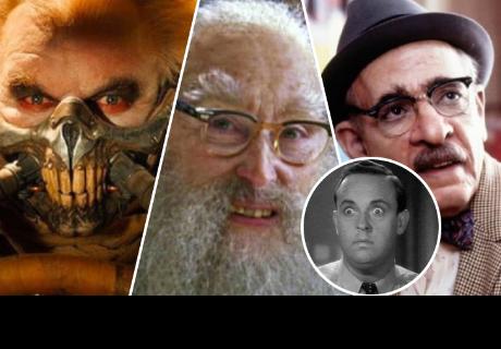 8 transformaciones de actores más increíbles después del maquillaje