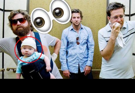 Mira como luce el bebé de '¿Qué pasó ayer?', que ha dejado en shock a todos